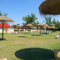 Photo taken at Piscina Municipal Úbeda by Chines on 7/15/2013