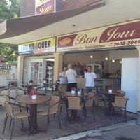 Photo taken at Padaria Bon Jour by Mariana B. on 9/27/2012