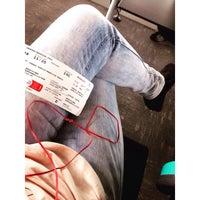 Photo taken at Gate 6 - Aeropuerto El Dorado by Angie Torres T. on 8/2/2015