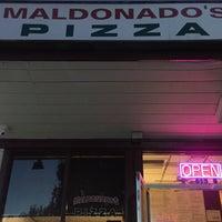 Photo taken at Maldonado's Pizzeria by Ehs on 10/11/2015