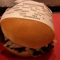 Photo taken at Fat Burger by Brian A. on 11/3/2012