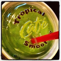 Photo taken at Tropical Smoothie Café by Michael on 3/17/2013