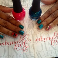 Photo taken at The Nail Boutique NYC by The Nail B. on 4/24/2013