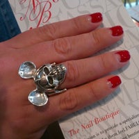 Photo taken at The Nail Boutique NYC by The Nail B. on 2/25/2013