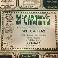 Photo taken at McCarthy's Restaurant by Dan on 8/10/2013