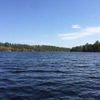 Photo taken at Lake Vermilion by Than T. on 5/24/2014