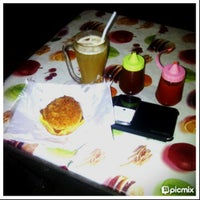 Photo taken at Naufal Fried Chicken And Burger Crispy by Rei Khyie K. on 7/12/2013