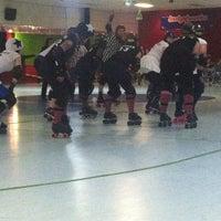 Photo taken at Hillsboro Skate World by Jenny on 12/2/2012