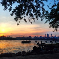 Photo taken at Grand Ferry Park by Kimberly F. on 6/10/2013
