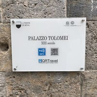 Photo taken at Piazza Tolomei by Metalaviator on 4/12/2018