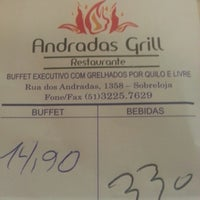 Photo taken at Andradas Grill by Otávio A. on 12/7/2012