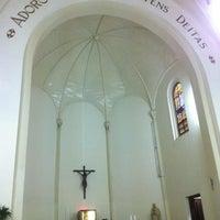 Photo taken at Kapel Hati Kudus Yesus by Daniel G. on 4/9/2013