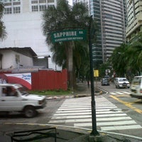 Photo taken at Sapphire Carpark (Metro Parking) by Christian C. on 9/29/2012