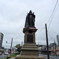 Photo taken at Queen Victoria Statue by Steven H. on 10/24/2013