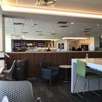 Photo taken at Delta Sky Club by Carlos V. on 11/17/2017