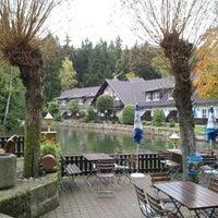 Photo taken at Gondelfahrt Jonsdorf by Anja B. on 9/29/2012