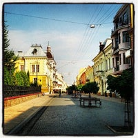 Снимок сделан в Улица Ольги Кобылянской пользователем Vitaliy M. 7/27/2013