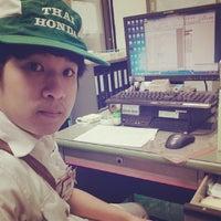 Photo taken at Thai Honda Manufacturing Co., Ltd. by ΨΣΔ ŹΛ on 4/24/2014