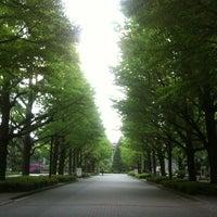 Photo taken at Aoyama Gakuin University by sksb on 5/6/2013