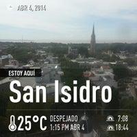 Photo taken at Tribunales San Isidro by Gaston R. on 4/4/2014