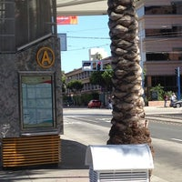 Photo taken at long beach transit shelter a by Brandie on 4/11/2014
