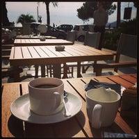 Photo taken at Armani Caffè by Myka Akel on 10/31/2013
