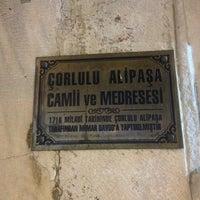 7/11/2013 tarihinde Erkay E.ziyaretçi tarafından Çorlulu Ali Paşa Medresesi'de çekilen fotoğraf