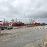 Photo taken at Loyang Offshore Supply Base Jetty by Fakhrul H. on 2/2/2018