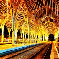 Photo taken at Estação Ferroviária da Gare do Oriente by Sufiano on 1/11/2013