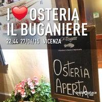 Foto scattata a Osteria il Buganiere da Fabio il 6/27/2015