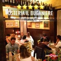 Foto scattata a Osteria il Buganiere da Fabio il 5/15/2015