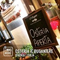 Foto scattata a Osteria il Buganiere da Fabio il 5/16/2015