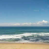 Photo taken at Praia do Norte by André D. on 10/20/2012