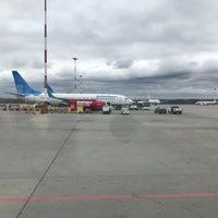 Photo taken at Pulkovo International Airport (LED) by Денчик on 5/5/2018