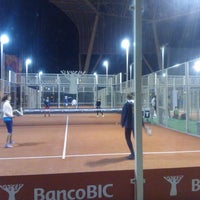 Photo taken at Clube de Padel by Nuno C. on 12/11/2013