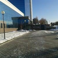 Photo taken at Ipak yuli bank by Yakdona on 12/21/2012