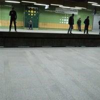 Photo taken at Al Shohadaa Metro Station by Kareem G. on 12/10/2012