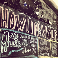 Photo taken at The Howlin' Wolf by Mac Miller on 6/28/2013