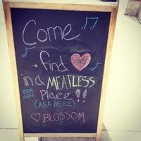 Photo taken at Café Blossom by Zachary K. on 3/13/2013