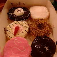 Photo taken at Big Apple Donuts & Coffee by Shila K. on 11/3/2012