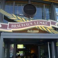 Photo taken at Brauhaus Lemke by Michael K. on 6/17/2013