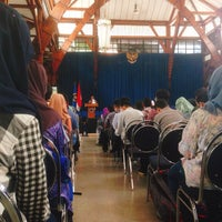 Photo taken at Aula Barat ITB by Muti Y. on 1/11/2017
