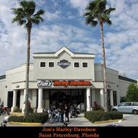 Photo taken at Jim's Harley-Davidson of St. Petersburg by Carlos H. on 9/28/2012