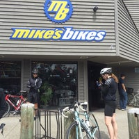 Photo taken at Mike's Bikes of Sausalito by Adrian on 5/4/2014