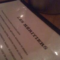 Photo prise au Restaurant Les Héritiers par Amélie-Anne le9/30/2012