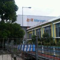Photo taken at Merpati Maintenance Facility by Noviar B. on 12/14/2012