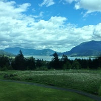 Photo taken at Skamania Lodge by Dana F. on 4/28/2013
