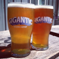 Photo taken at Gigantic Brewing Company by Brad C. on 7/21/2013