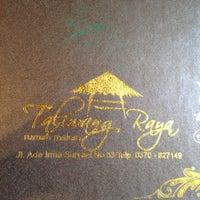 Photo taken at Lesehan Taliwang Irama by Edy P. on 12/22/2012