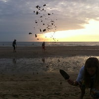 Photo taken at Strand Egmond Aan Zee by Iris W. on 8/22/2013